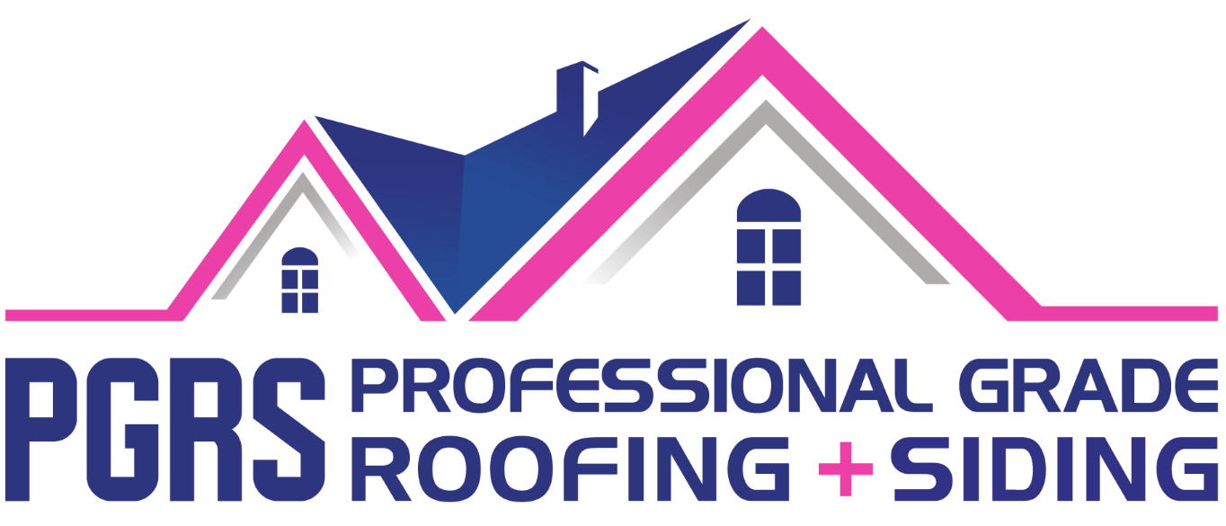 PGRS: Professional Grade Roofing + Siding Logo