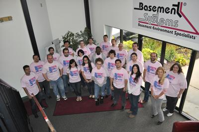 Pink Day Comes to Basement Systems!