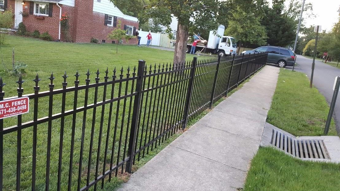 Aluminum Fence Installation in Mclean, VA