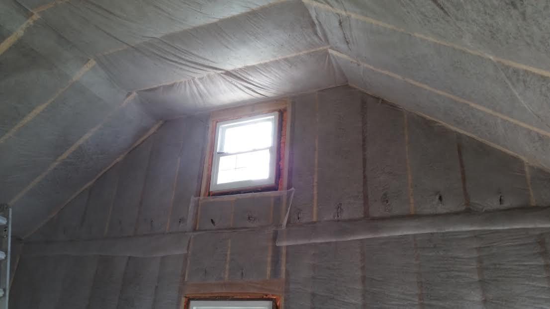 Dense Packing Cellulose Insulation with Insulweb in Rocky Hill, CT