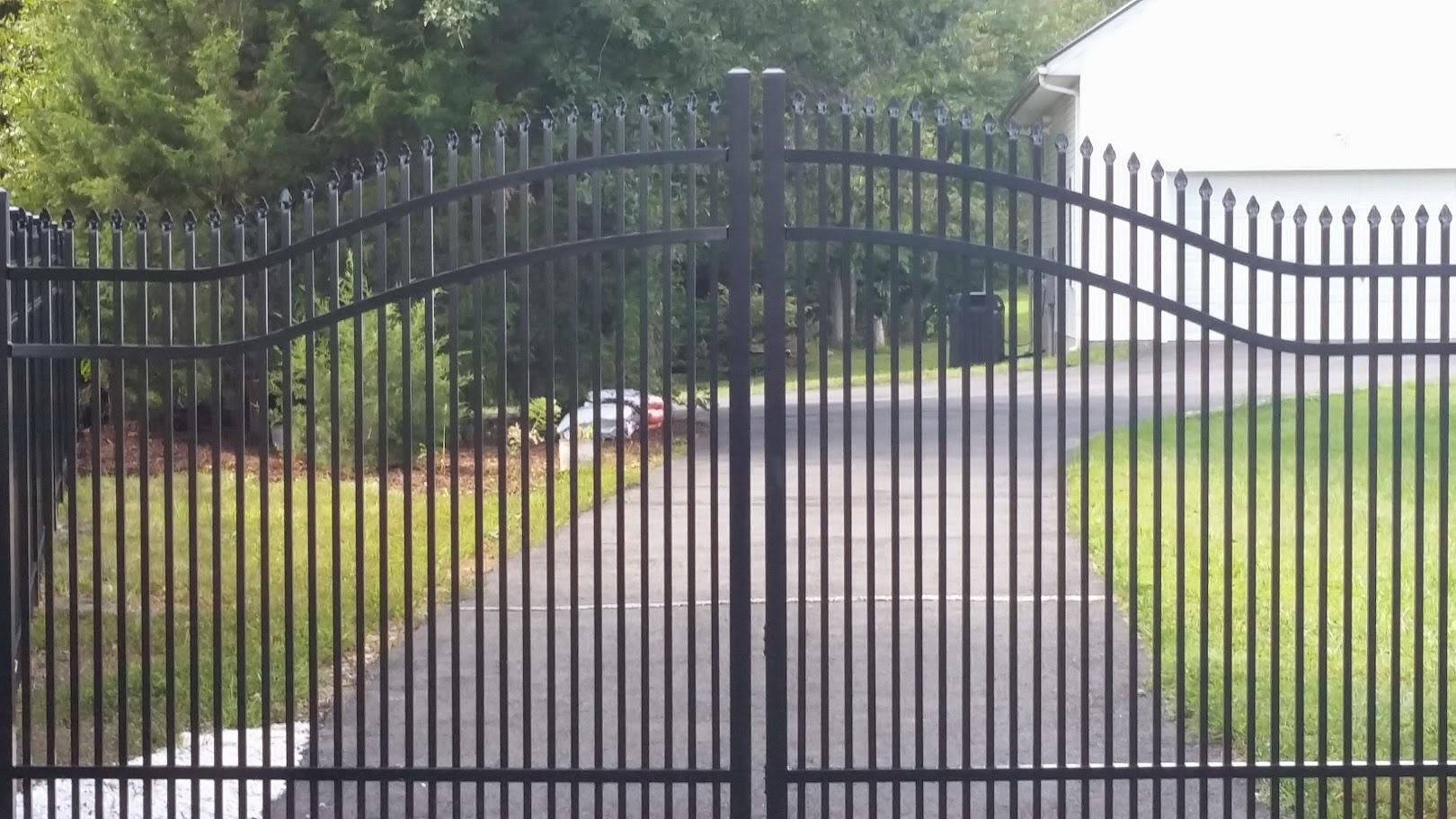 Mc Fence And Deck Driveway Gate Installation In Mclean Va