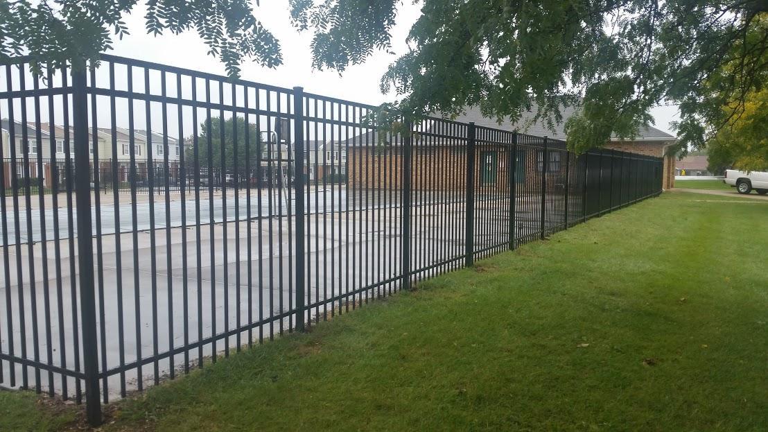 Commercial Grade Aluminum installed in Fairfax, VA
