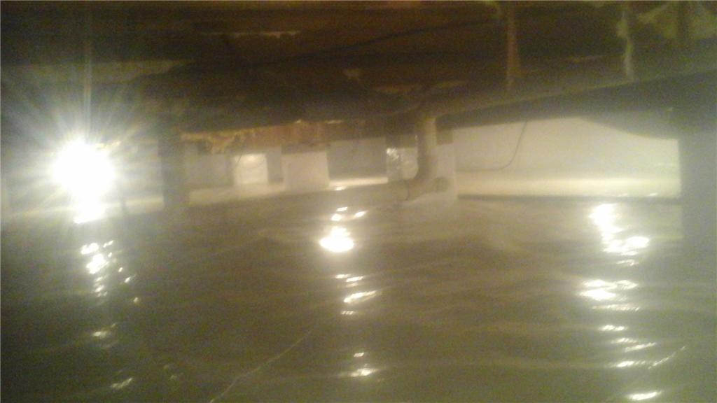 Finishing The Crawl Space In Elkton, MD