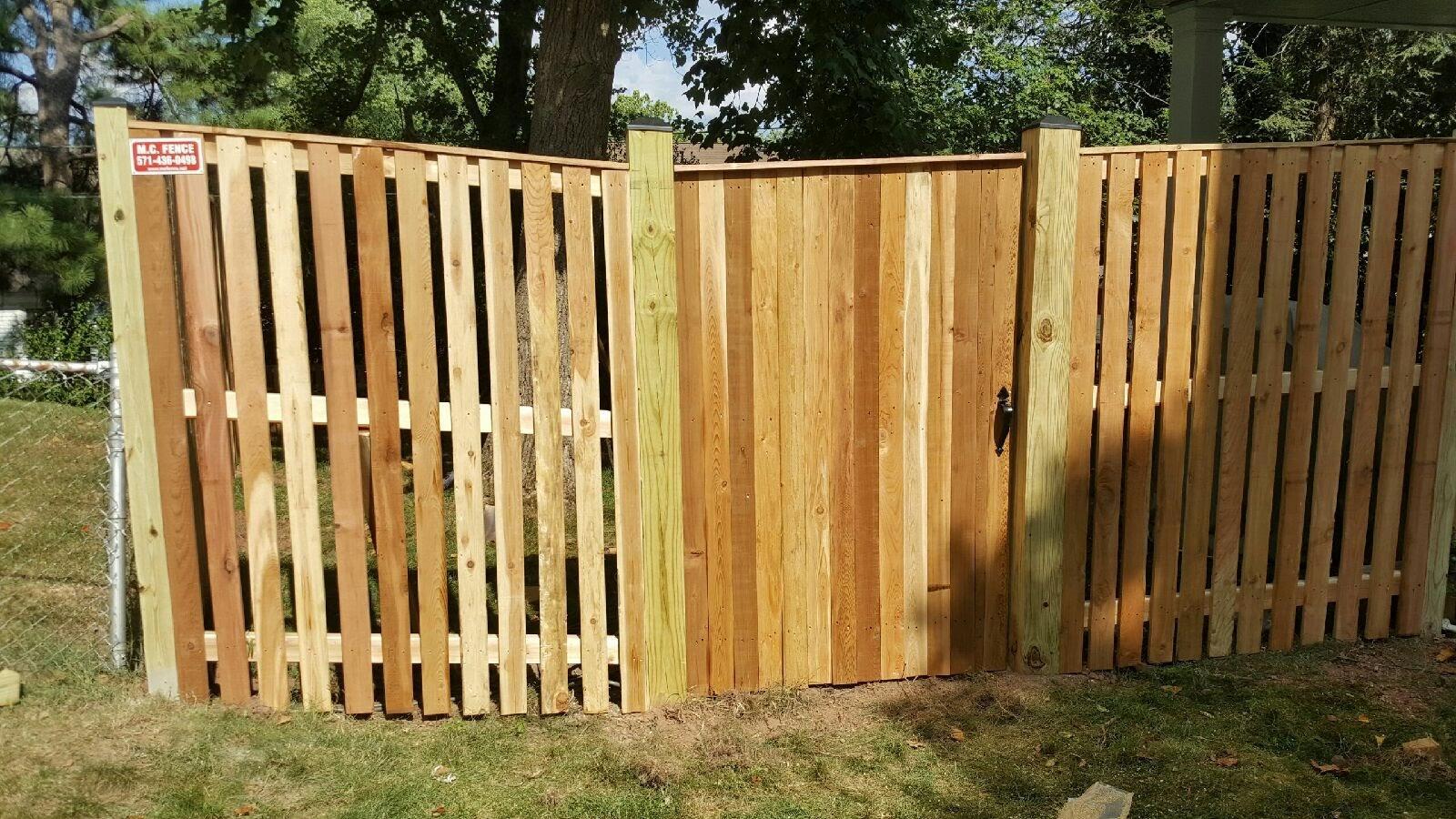 Wood Fence Installation in Hamilton,VA