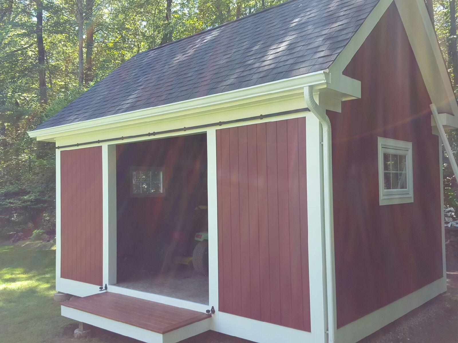 Shed Roof Replacement in Newtown, CT