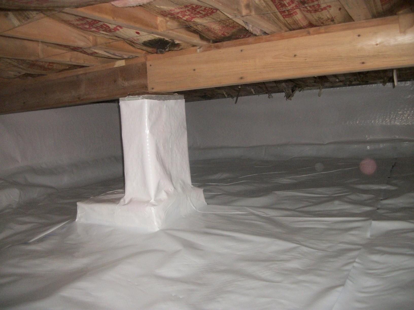 CleanSpace Crawl Space Vapor Barrier System