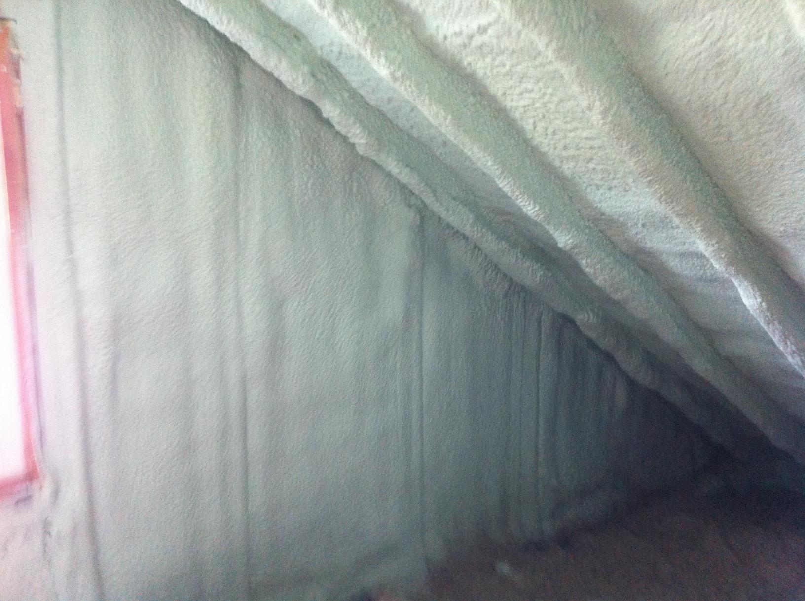 Spray Foam Insulated Attic