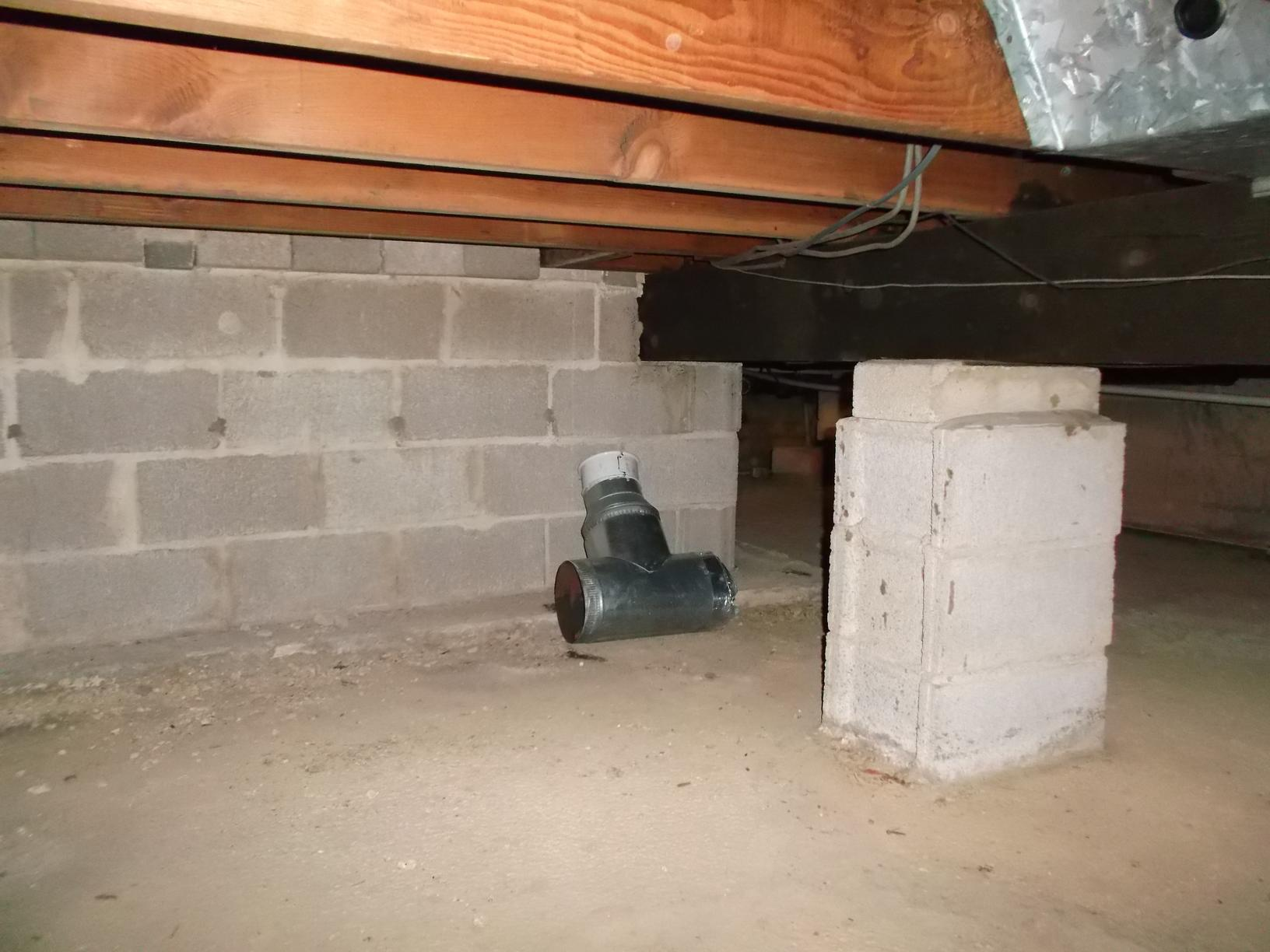 Another Crawl Space Support