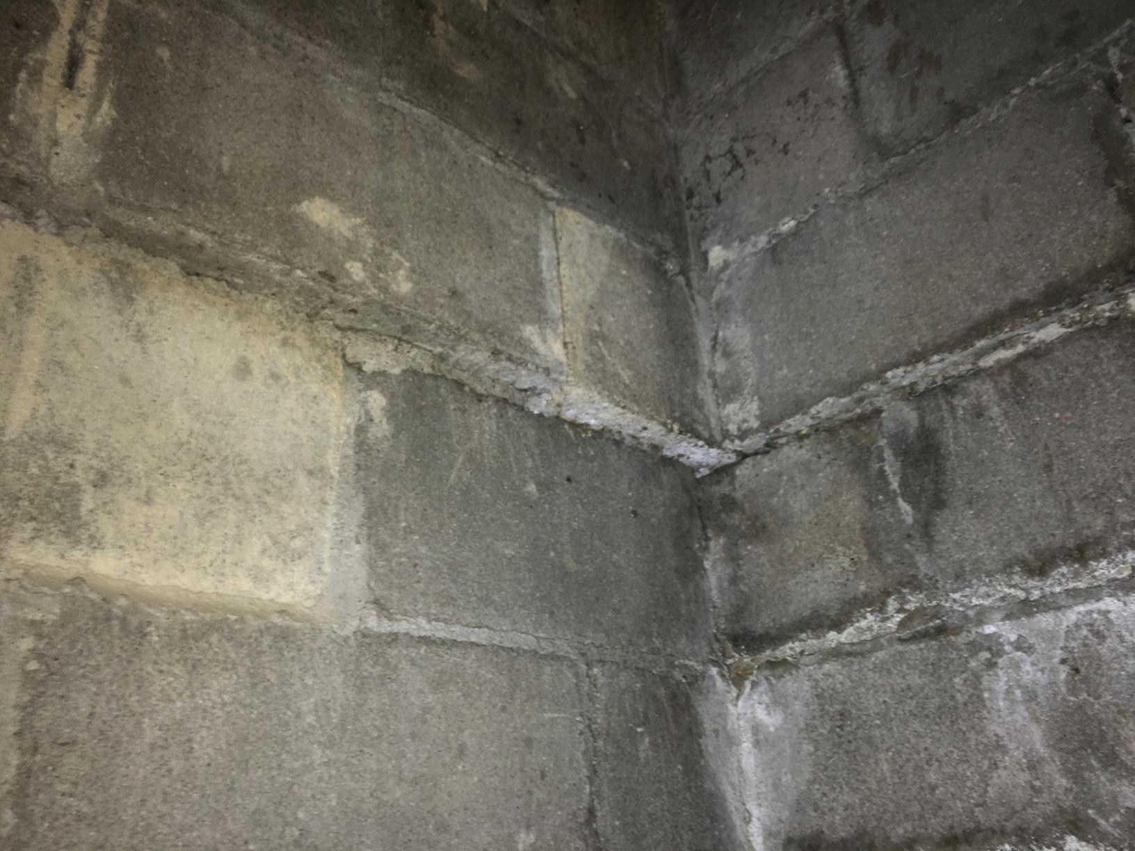 Bricks in Basement are not aligned