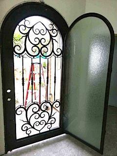Ornate Front Door Remodel in Cayucos, CA