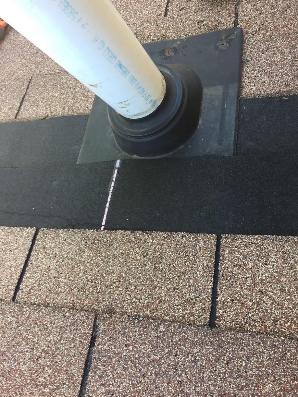 Roof Replacement Pipe Flashing Repair In Ledyard Ct