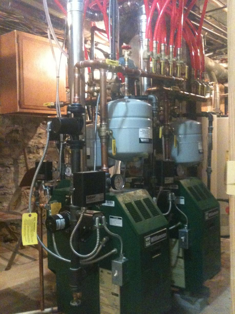 Ithaca, NY Completed Hot Water Boiler Installation