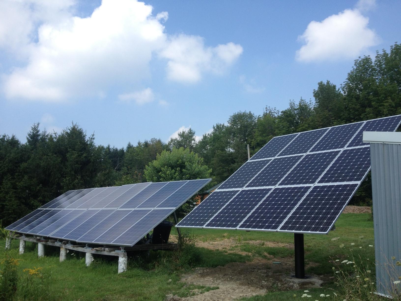 New Solar Panel Installation in Cincinnatus, NY