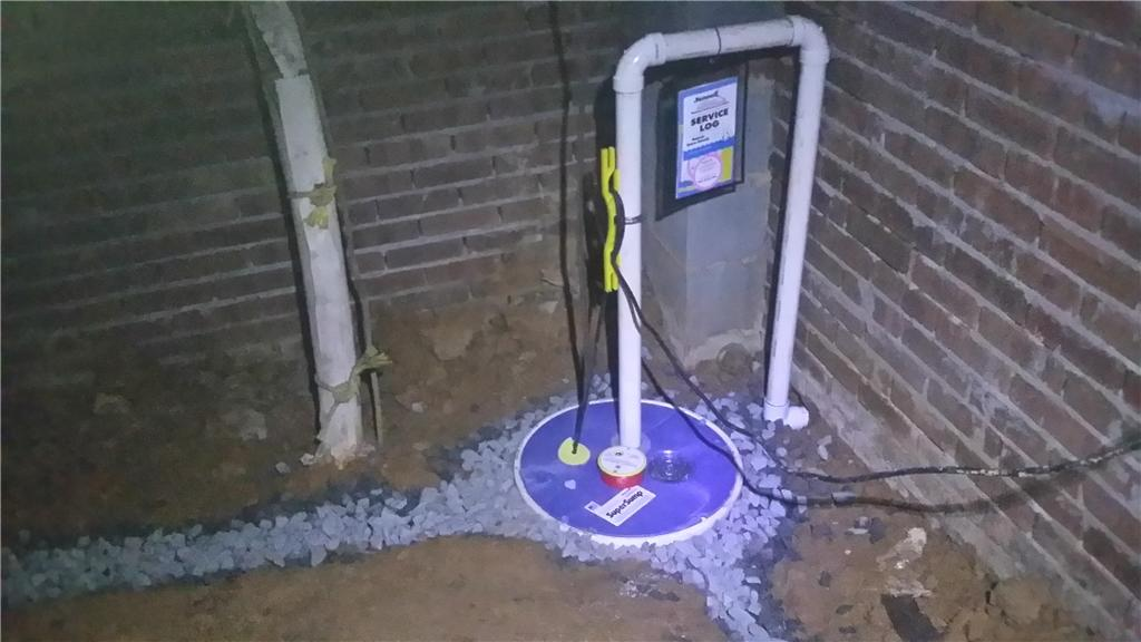 Sump Pump and Drainage System