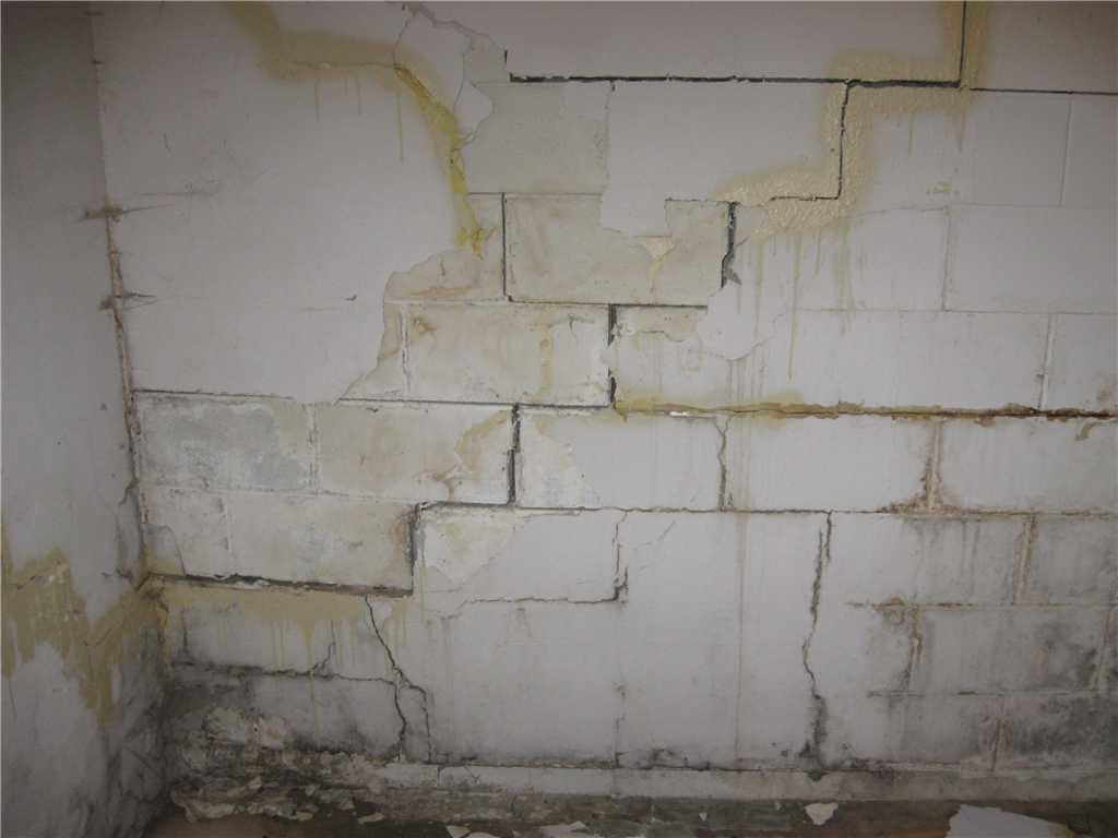 Cracking Bowing Wall