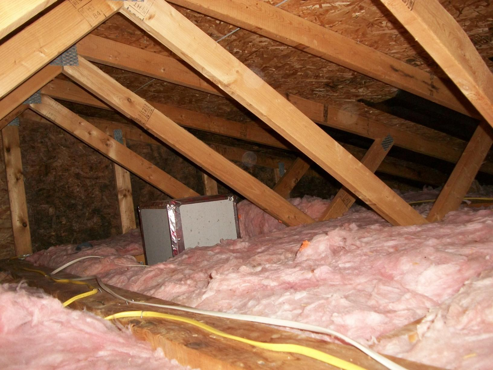 Untreated Leaky Attic
