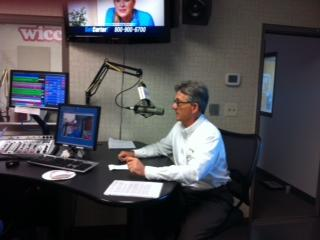 Paul at WICC on the Tony Reno Show