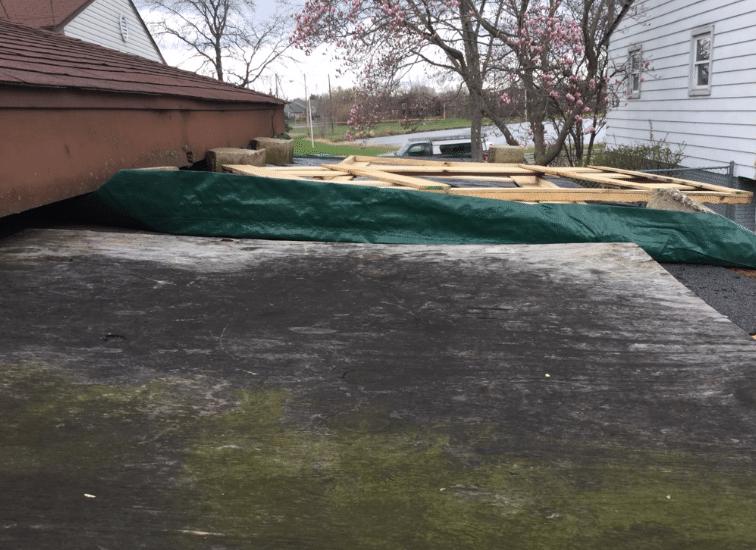 Flat Roof Gone Bad