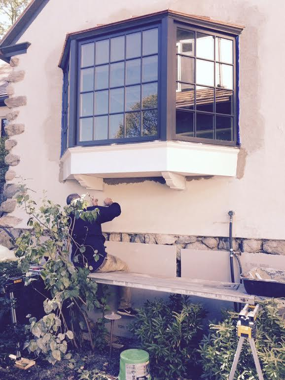 Windows Replacing A Bay Window And Copper Work In
