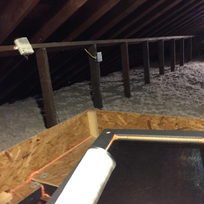 Air sealed attic, Baden, PA