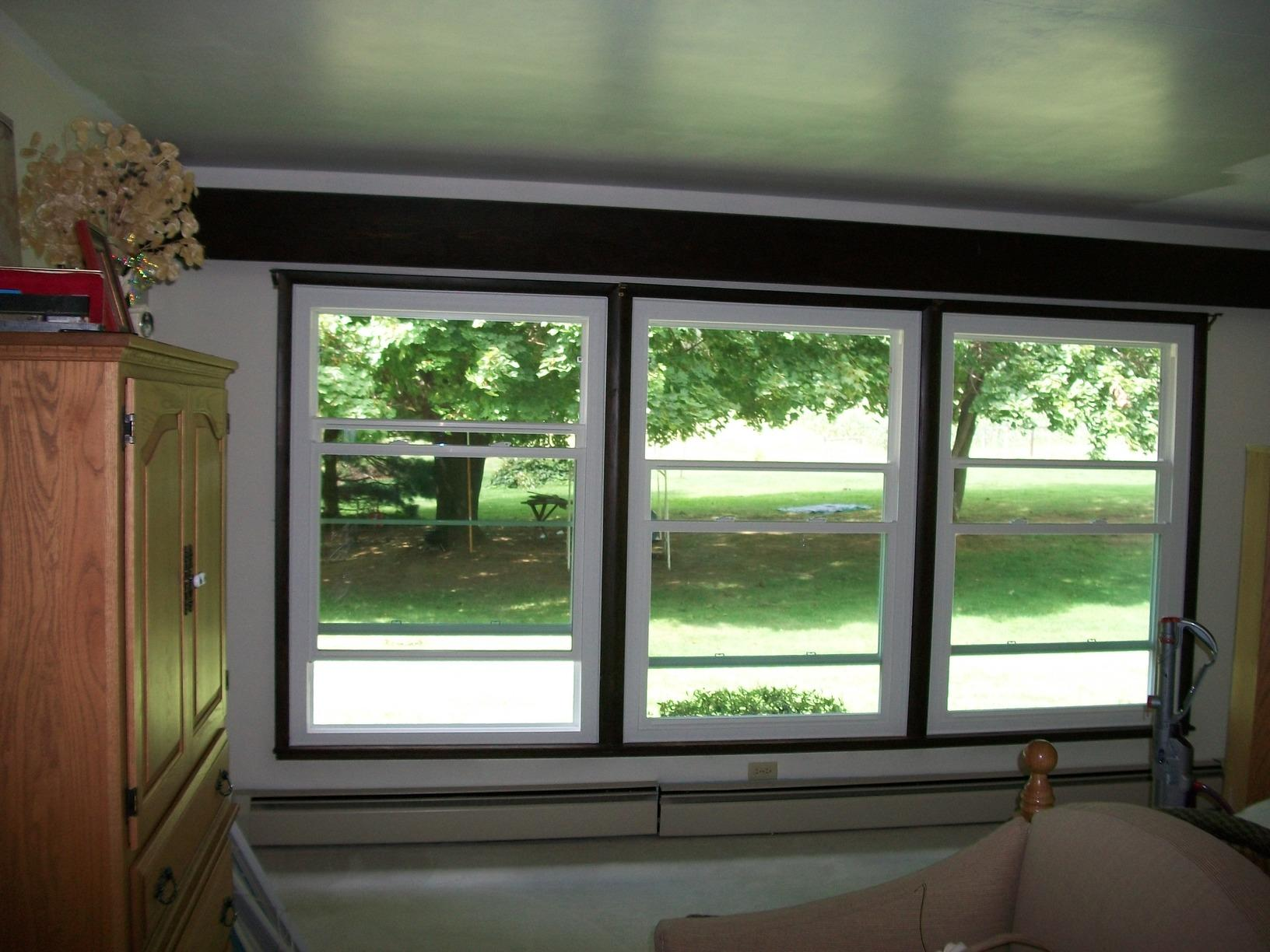 Interior Side Double Hung Window