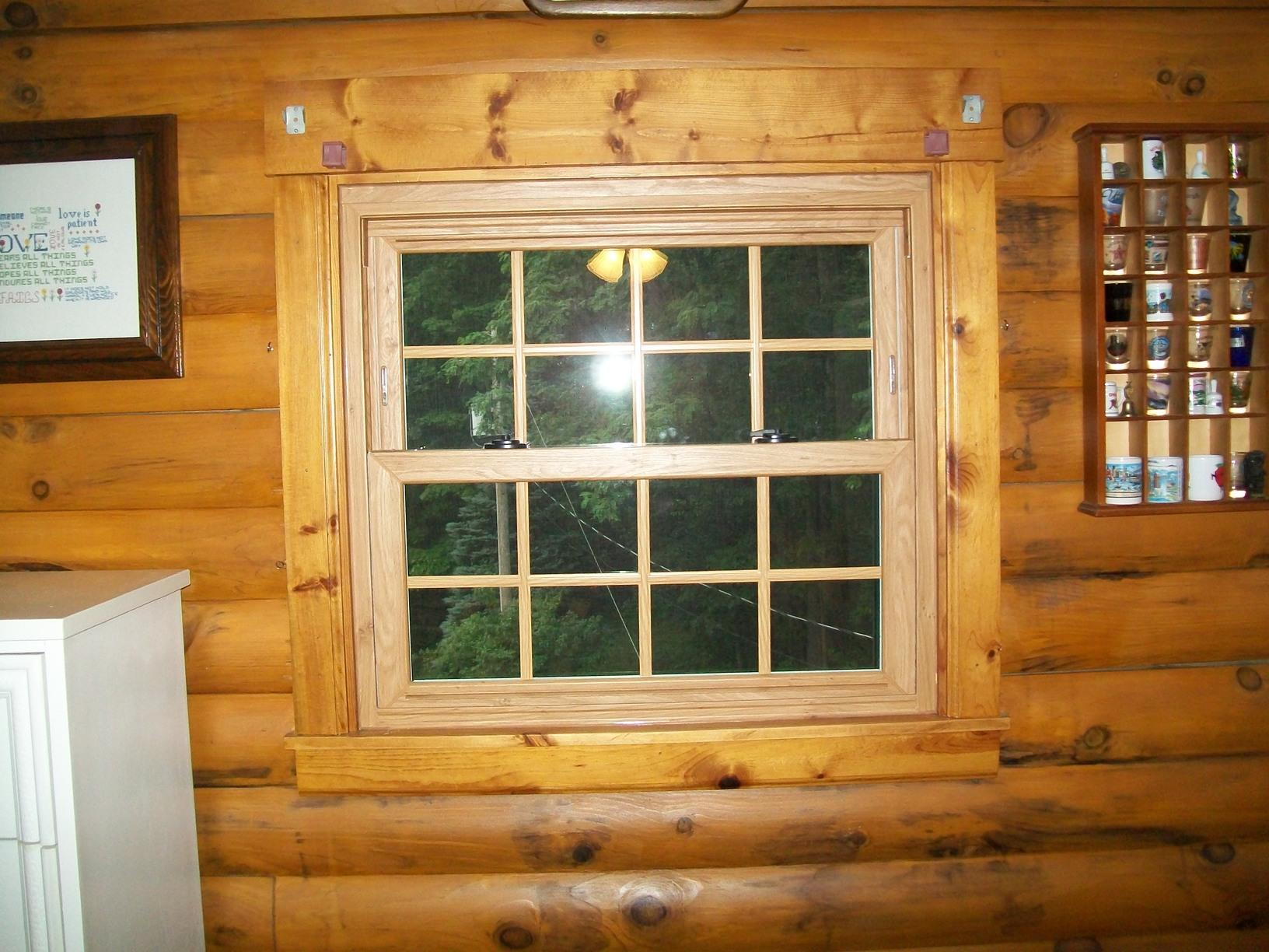 Another interior view of our wood windows we installed in Scenery Hill.