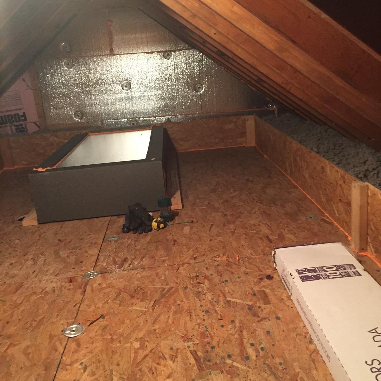 Super Deck in attic, Allison Park, PA