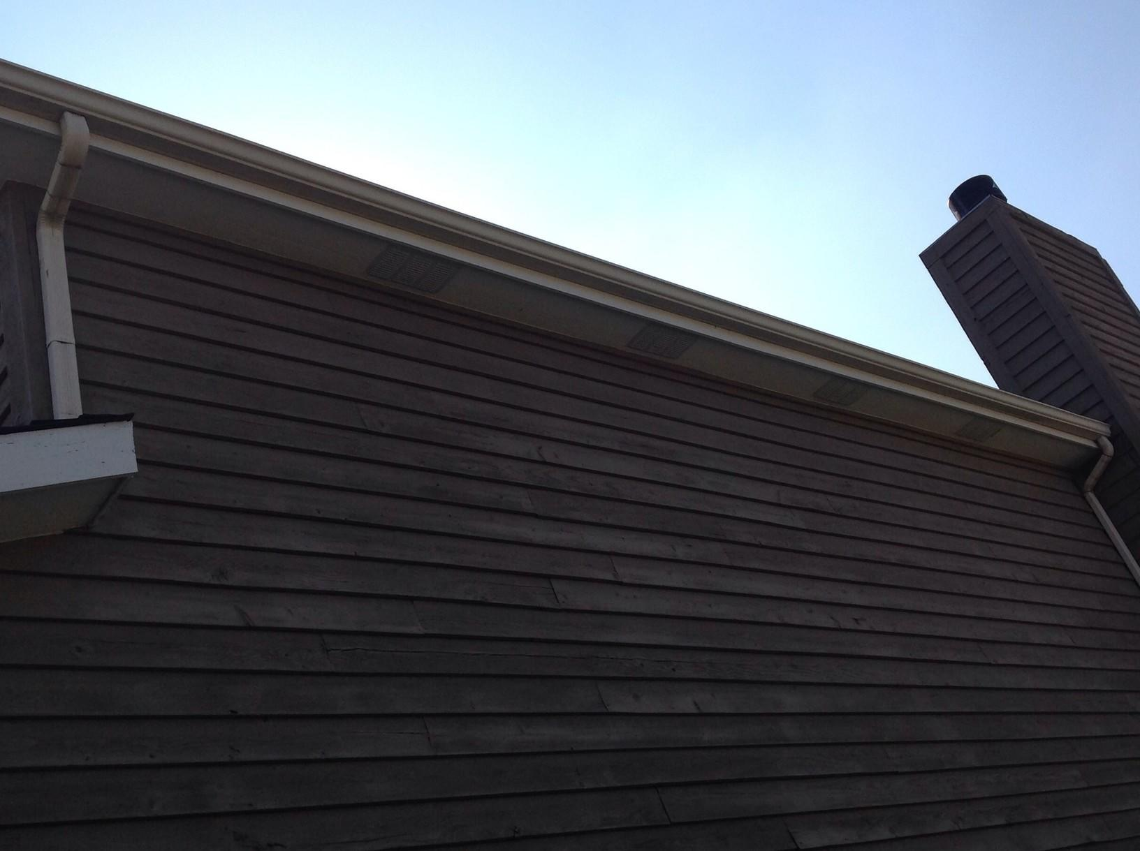 Soffit and gutter