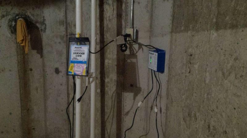 TripleSafe Sump Pump System in Cranston, Rhode Island