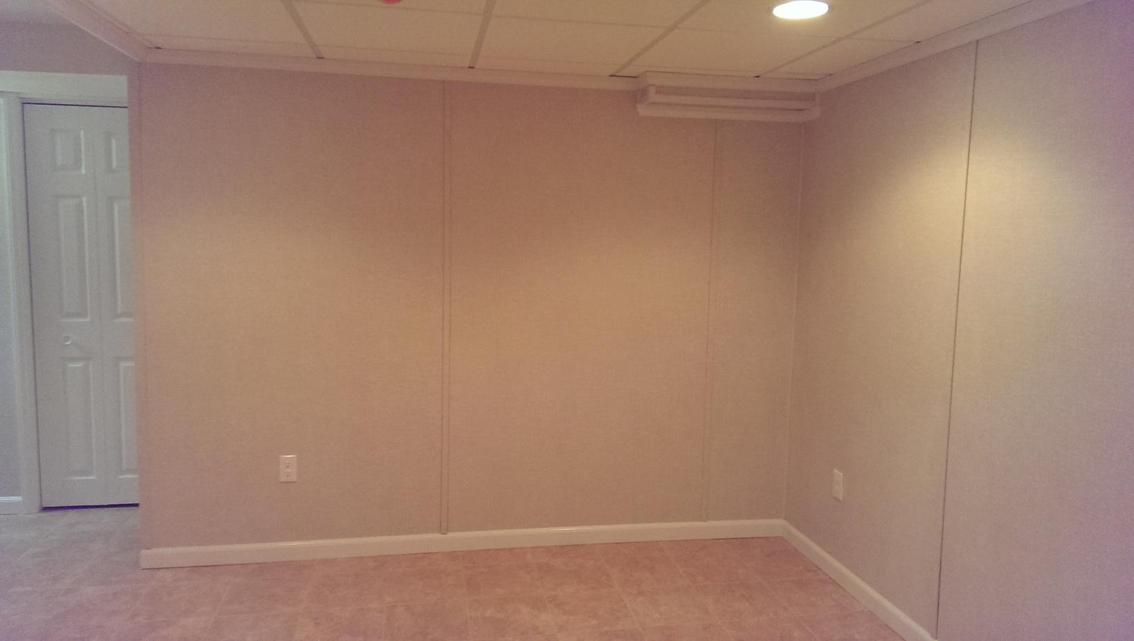 Basement Flooring and Walls