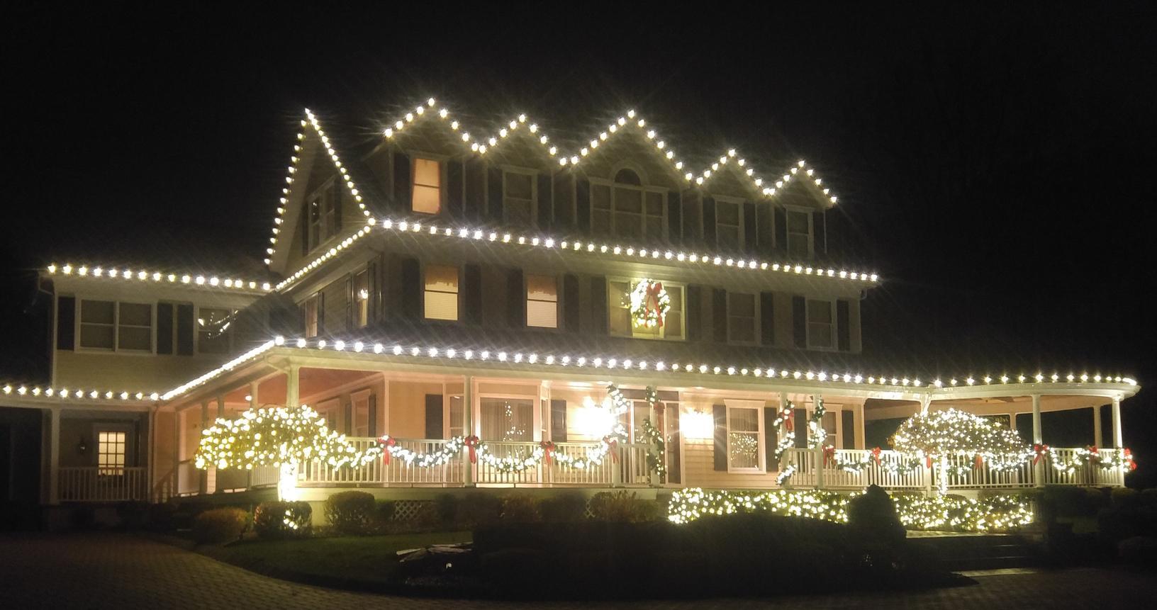 Pretty white lights