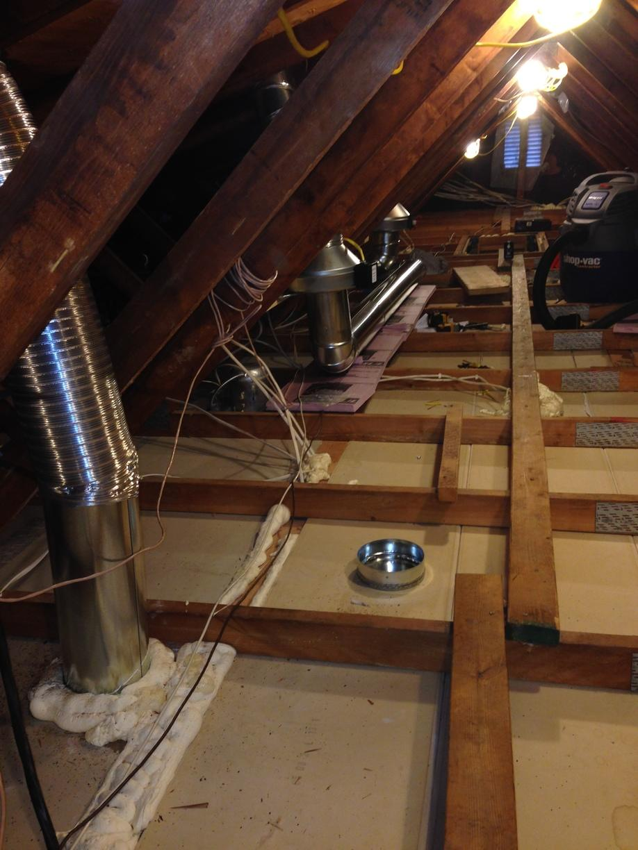 Air sealing and exhaust fans, Valencia, PA