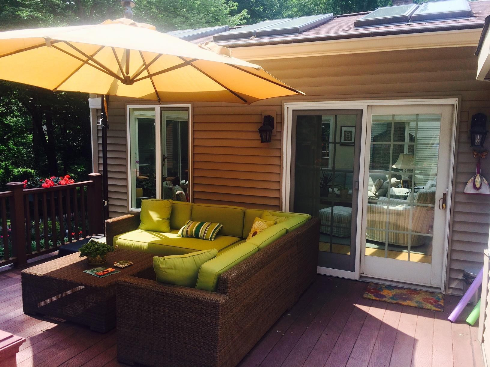Deck Patio Sunroom  Ashton Md