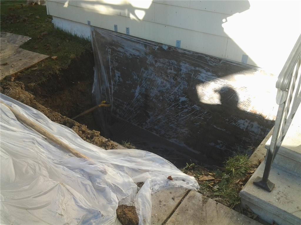 Egress window installation in Austin, MN