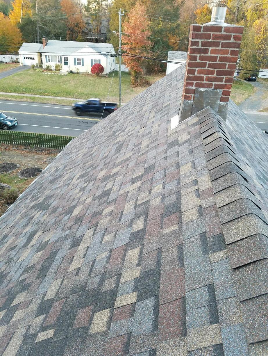Roof Replacement Owens Corning Summer Harvest Shingles