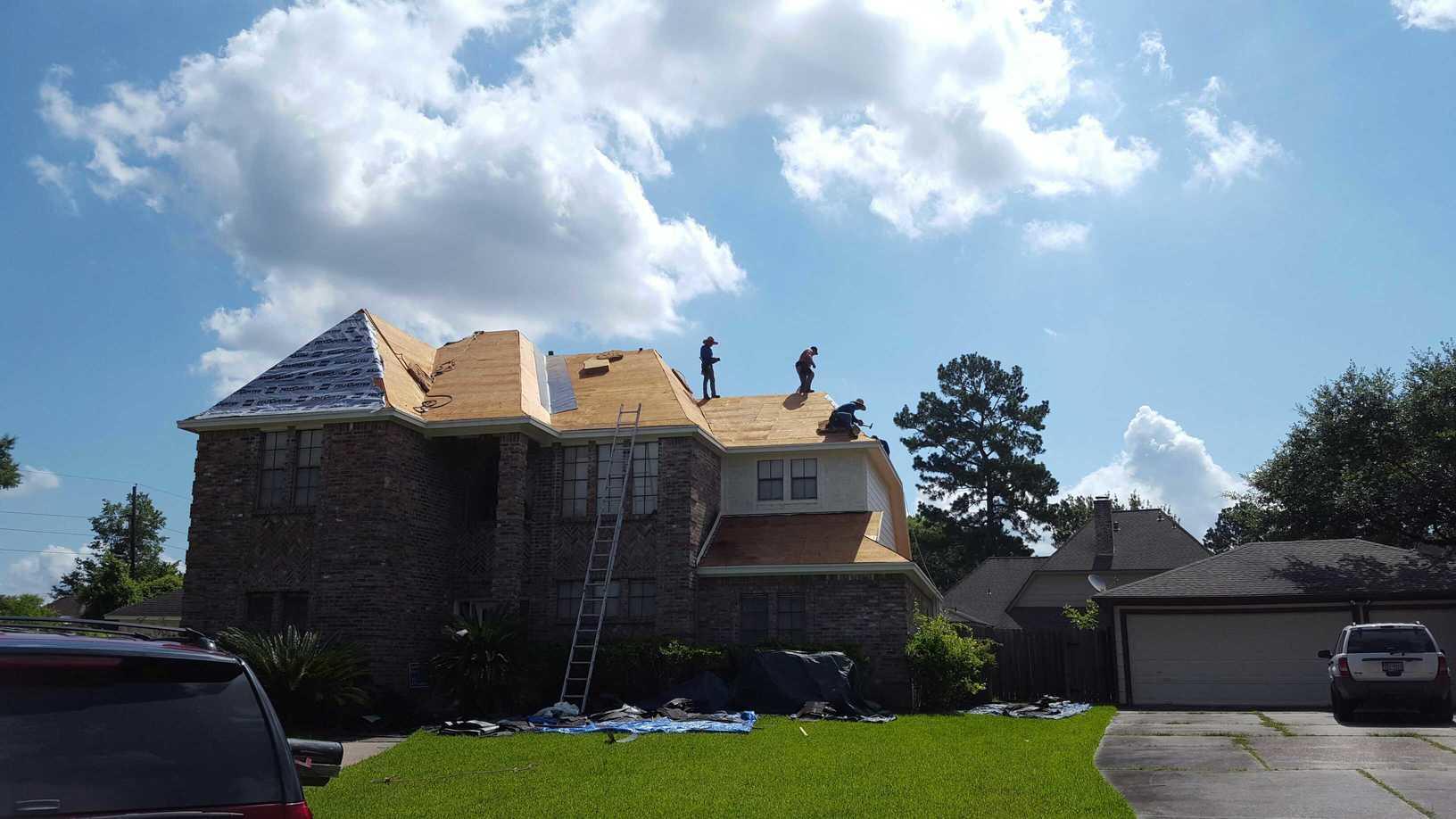 Humble, TX Roof Hail Damage