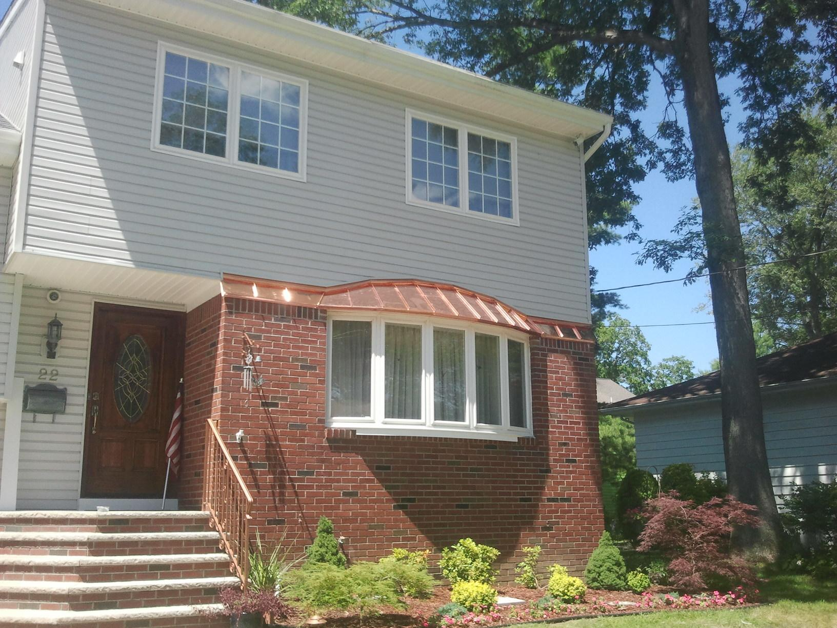 Copper Bay Window in Fair Lawn, NJ