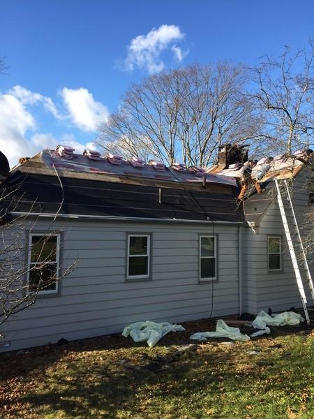 Roof Replacement In Norwich Ct Underlayment Installation