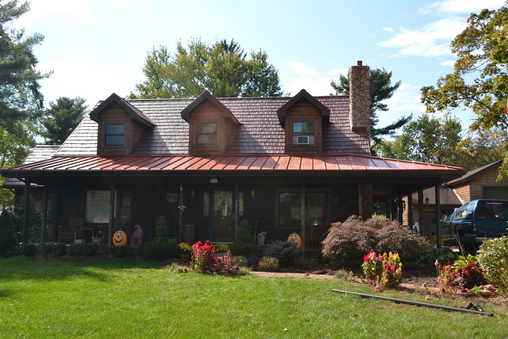 New Brunswick, NJ Log Cabin Style Roofing