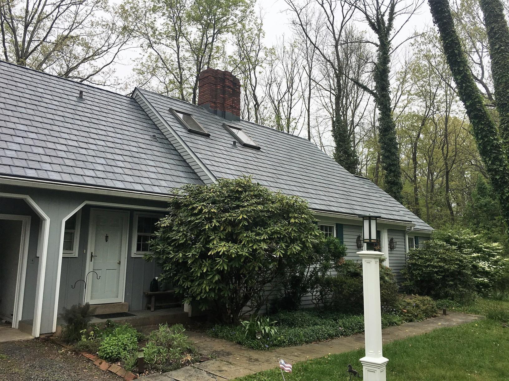 Morganville, NJ Faux Slate Roofing Installation