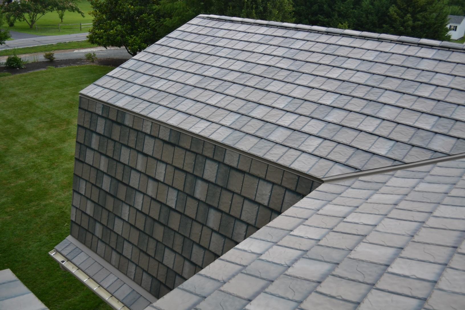 Metal Roofing Looks like Slate