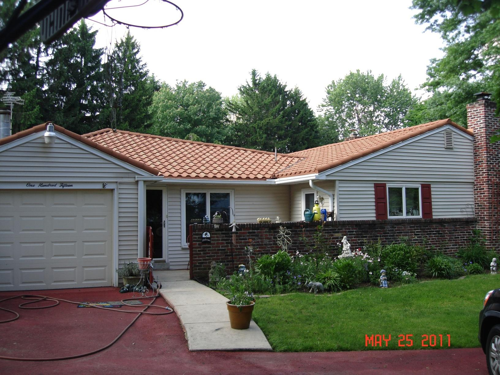 East Norriton, PA Metal Tile Roof Relacement