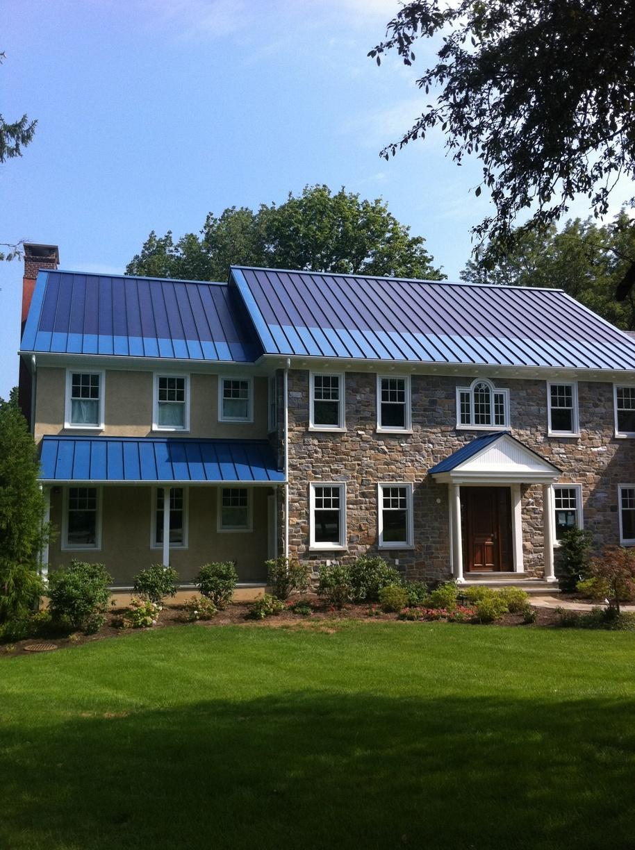 Solar Thin Film Roof Replacement in Gladwyne, PA