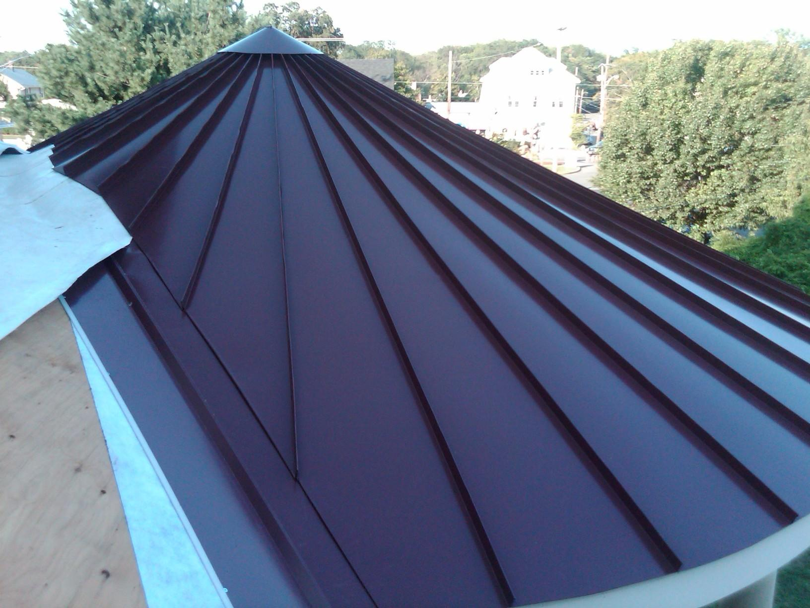 Roof Replacement Custom Standing Seam Metal Roofing In