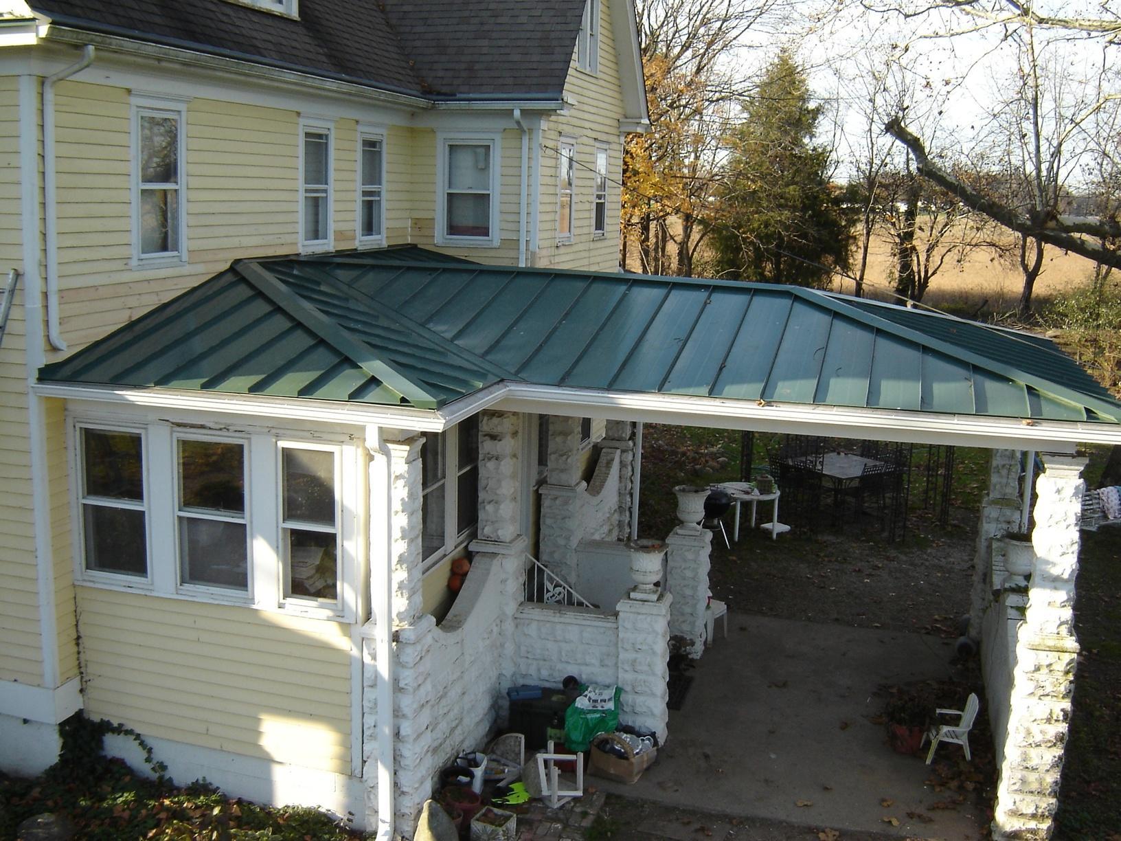 Elmer, NJ Porch Roof Replacement