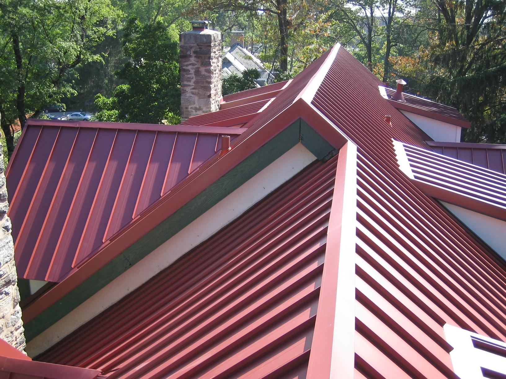 Red Metal Madison, NJ Standing Seam Roof