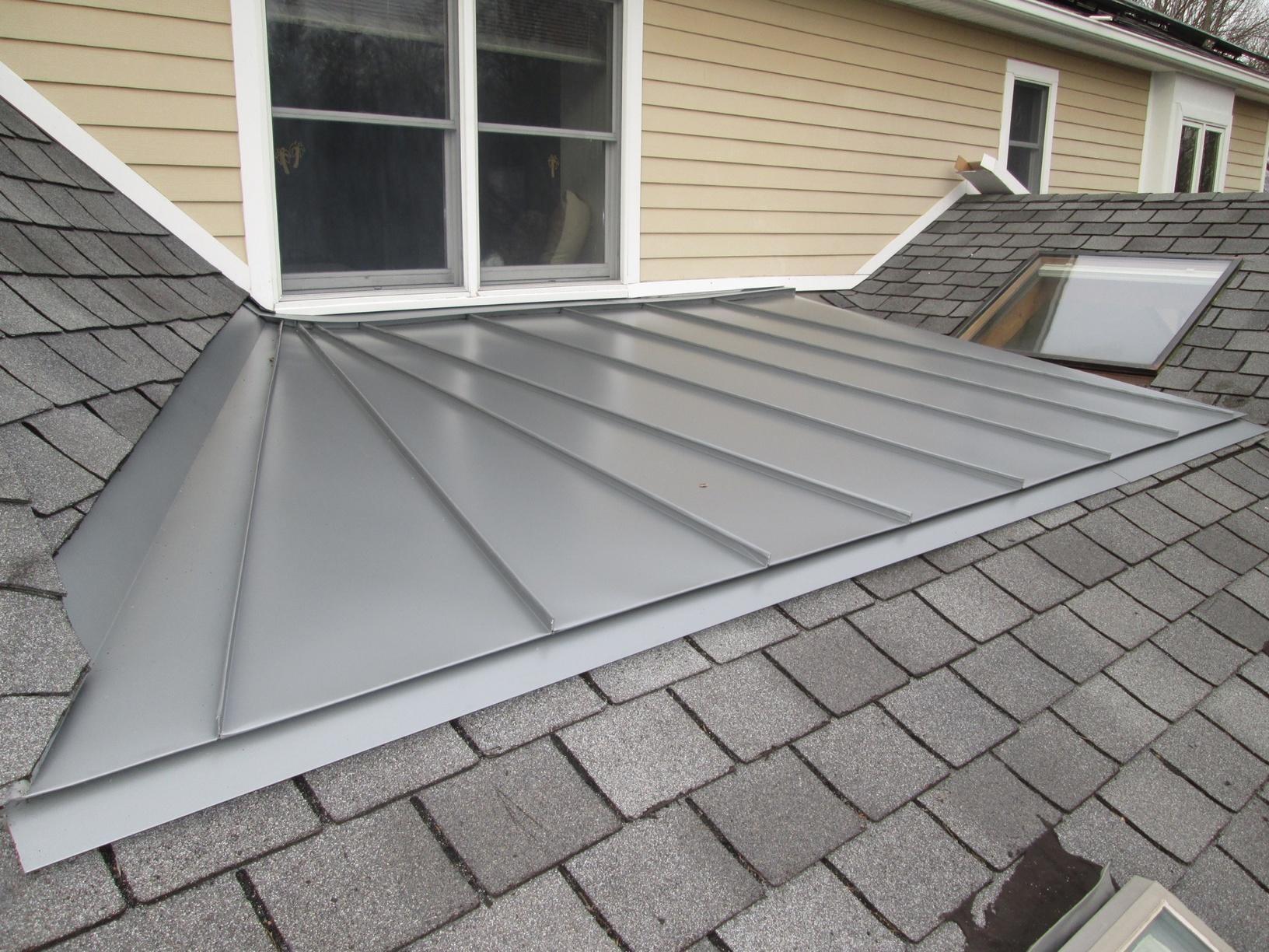 Low Slope Standing Seam Roof in Flanders, NJ