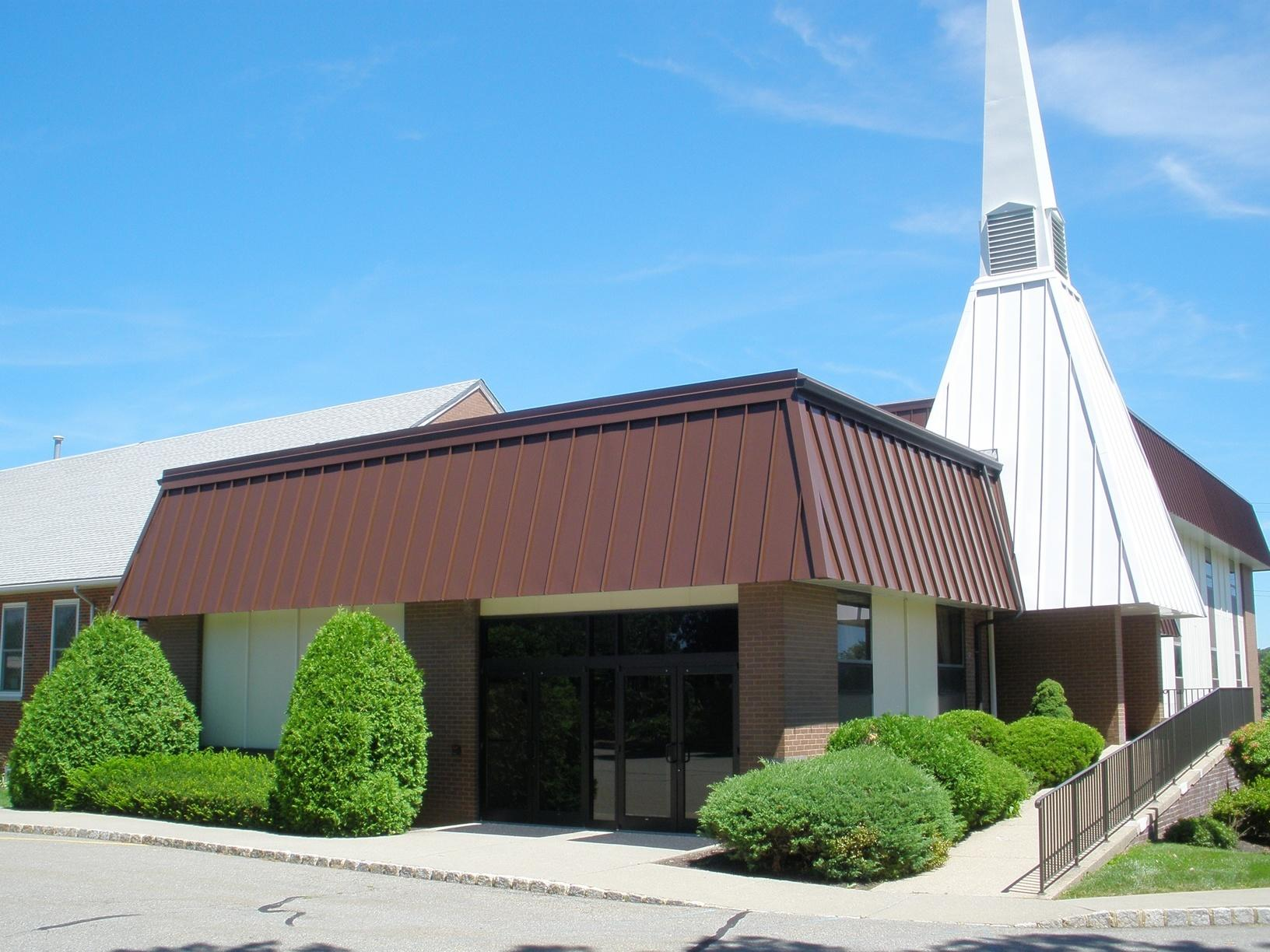 Randolph, NJ Church Metal Roof