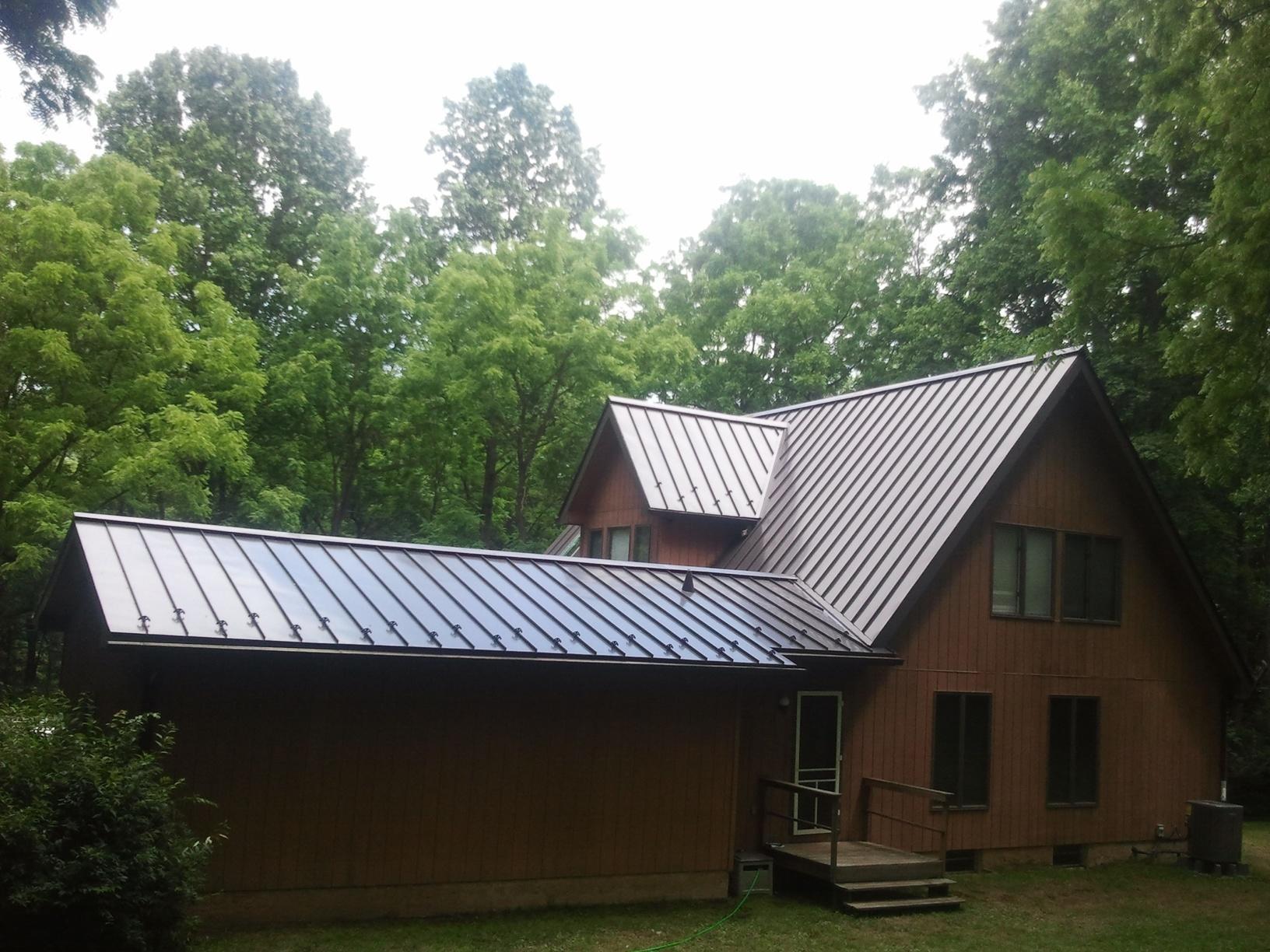Standing Seam Metal Roof in Tabernacle, NJ