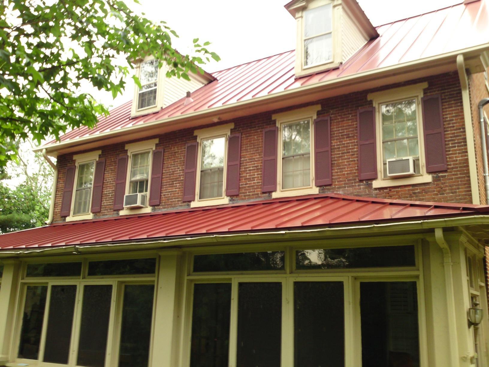 Metal Roofing on Historic Cinnaminson, NJ Home